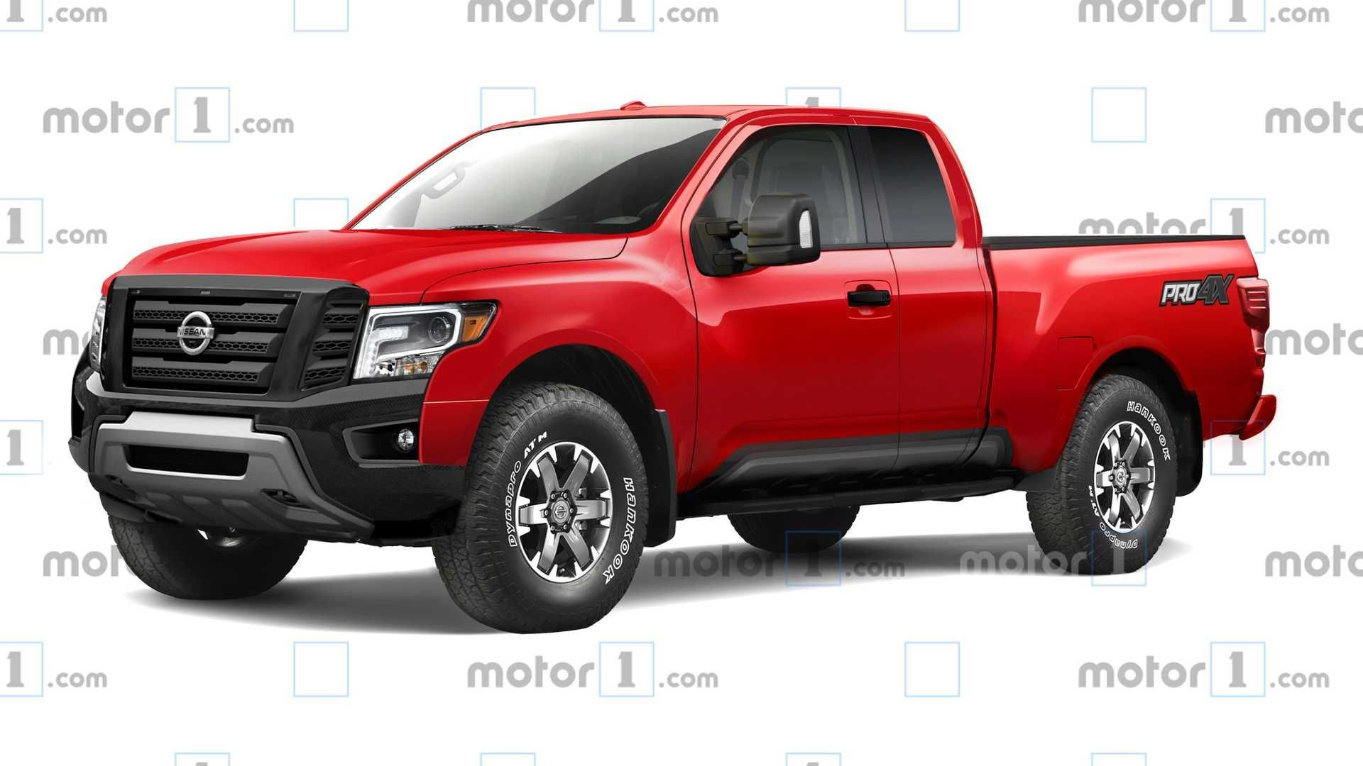 New Model and Performance Nissan Frontier 4X4 2021