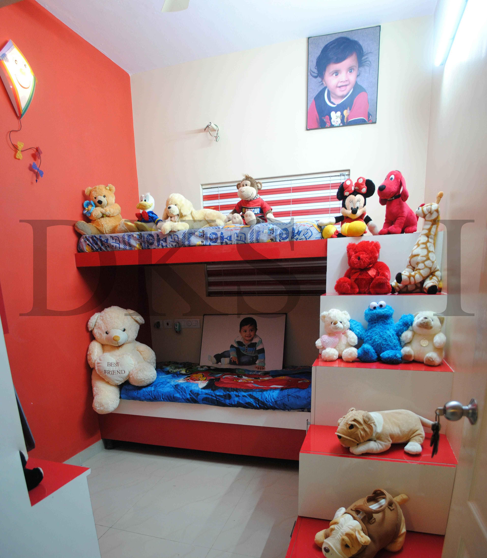 Bunk Bed Design By Architect: Karthikeyan Perumal