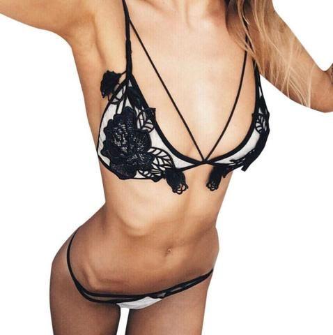 87ab00bf3c 2017 Fashion brand transparent bra romantic temptation lace bra set young  women underwear set push up