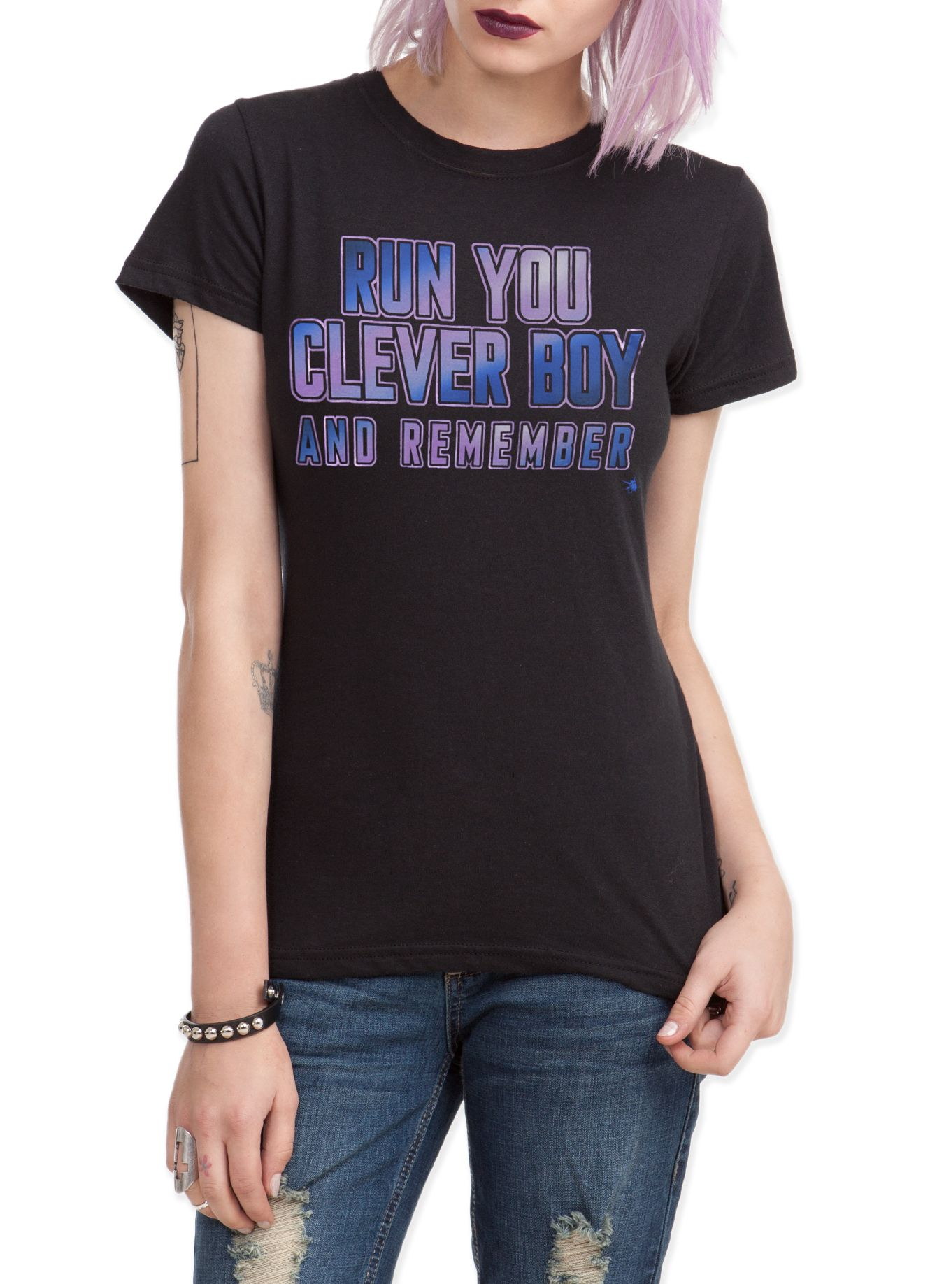 Doctor Who Her Universe Clever Boy Girls T-Shirt | Hot Topic