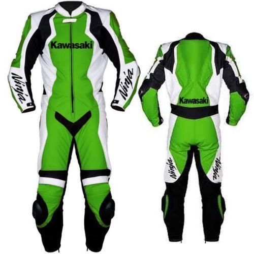 Kawasaki Ninja 1 Or 2 Pc Motorbike Leather Suit Racing Motorcycle Suit Motorcycle Suit Motorcycle Leathers Suit Motorbike Leathers