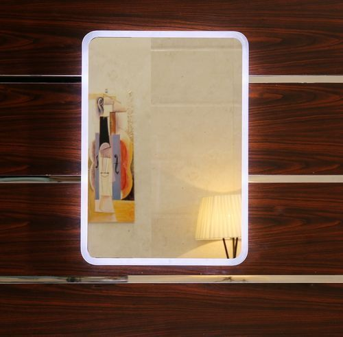 LED Lichtspiegel Granada, Größe 40x60 cm - Badspiegel, Wandspiegel - badezimmerspiegel mit led