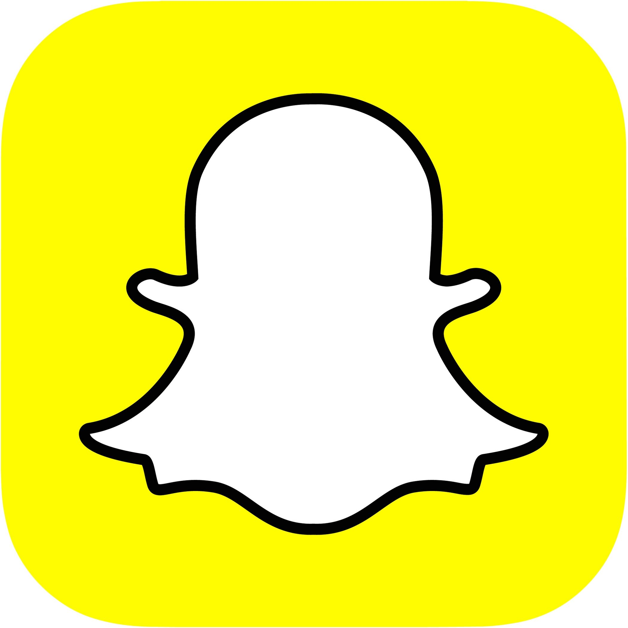 A Teenager's View on Social Media Snapchat logo
