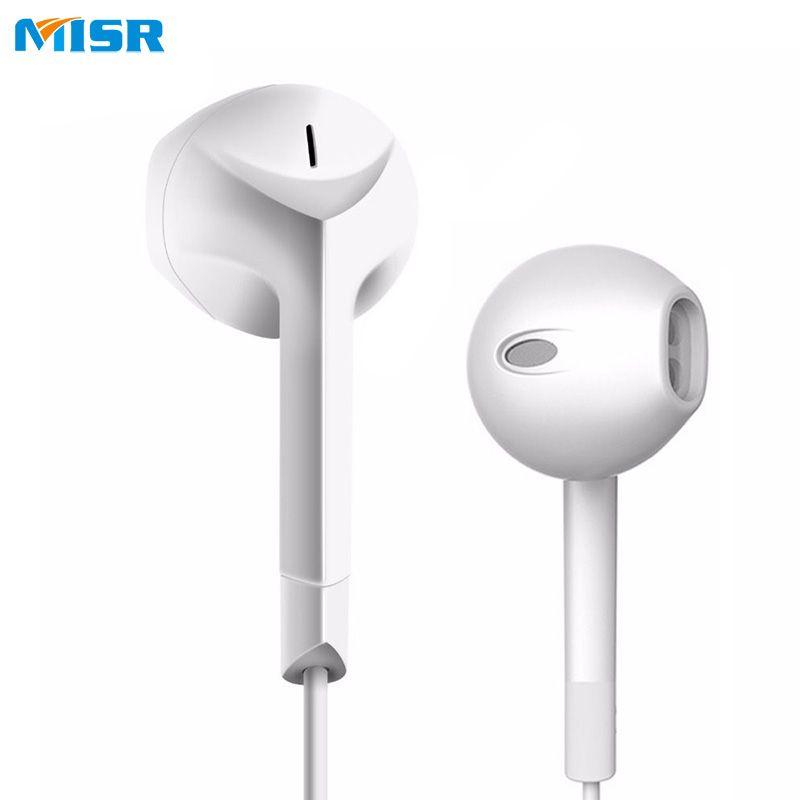 Misr P25 Filaire écouteurs Avec Micro Microphone Pour Téléphone In