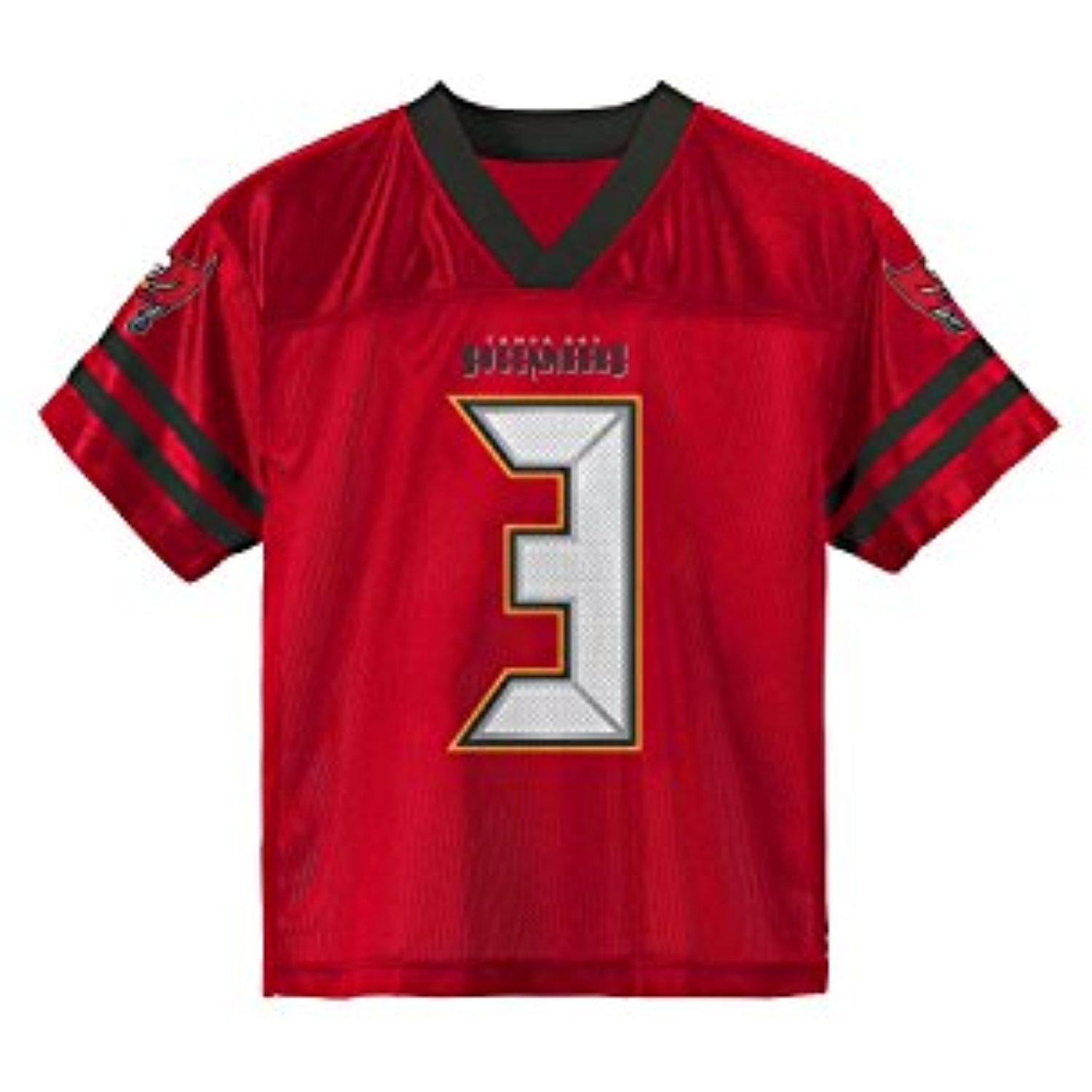 Jameis Winston Tampa Bay Buccaneers Red Youth Player Home