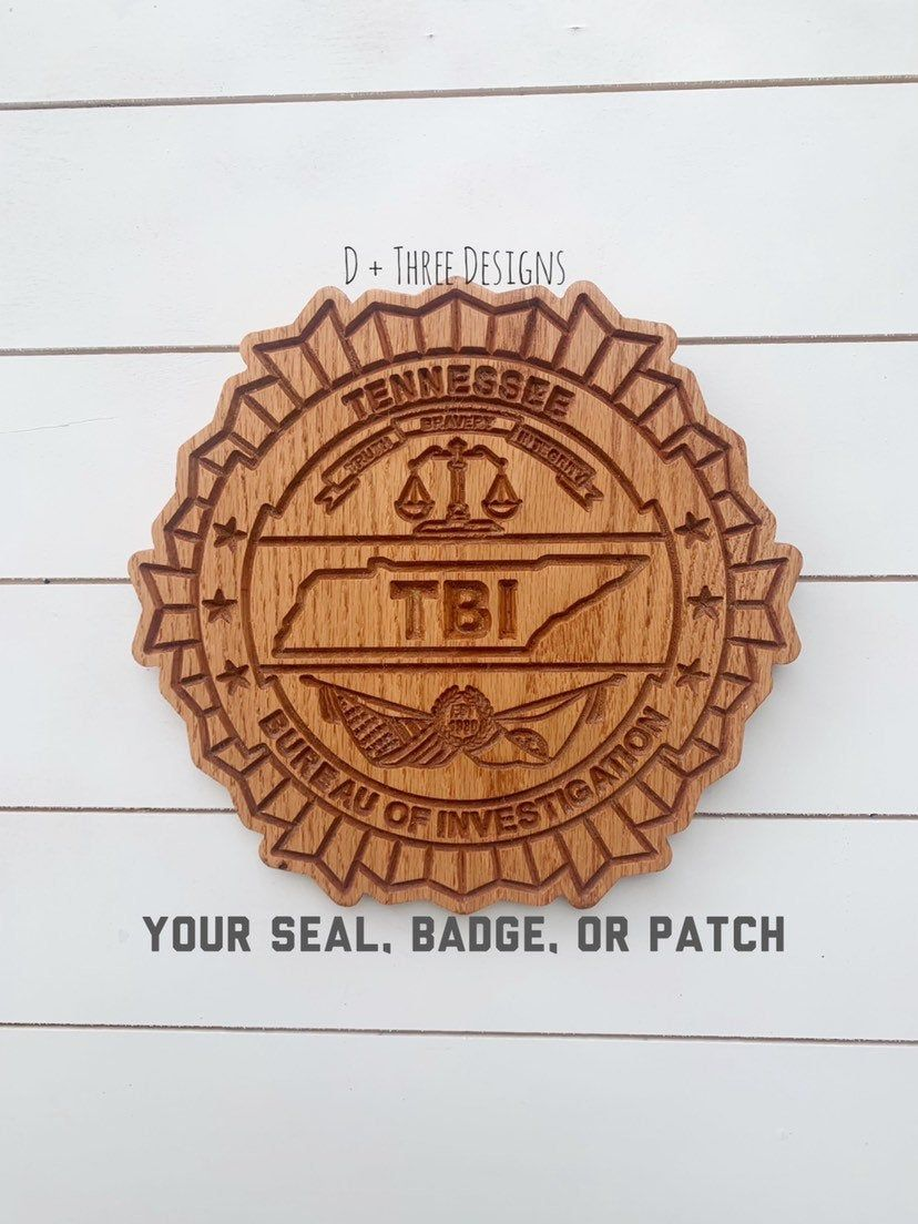 Personalized police badge or patch police retirement