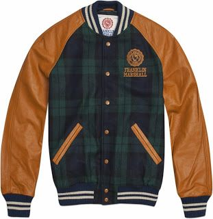 amp; Franklin Jackets Varsity By Jacket Marshall 7n4RqwZvxt