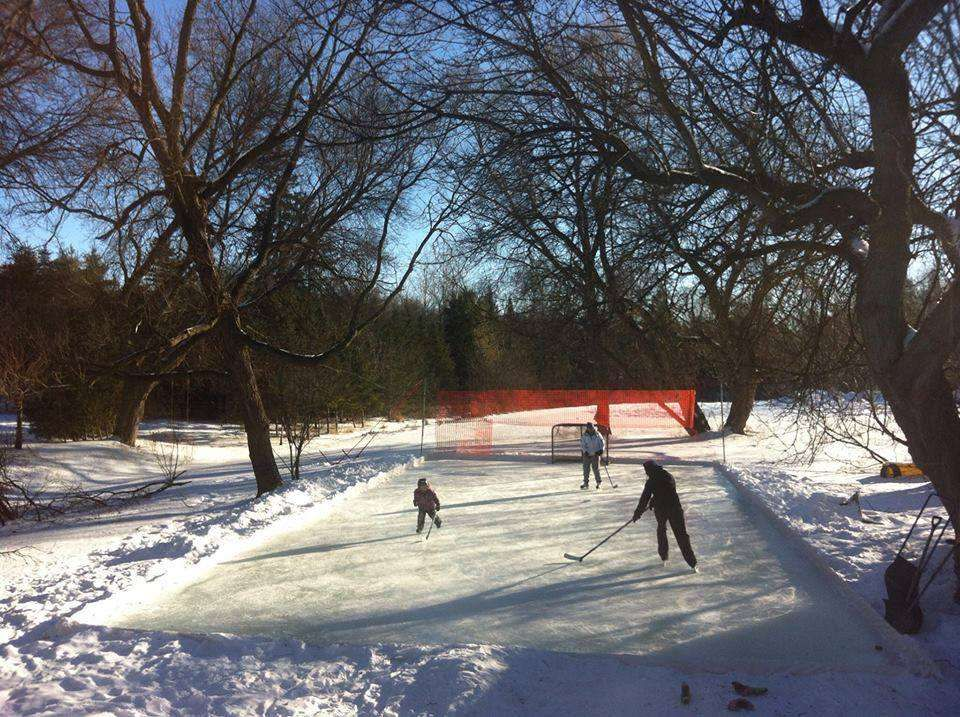 The Perfect Device for Creating The Best Backyard Rink Surface! FloodMaster