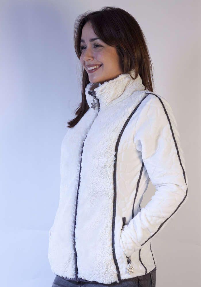 Polaire Tyrol A Veste Raison Et Sport Classe Blanc Femme J'avais La fvbg7yY6