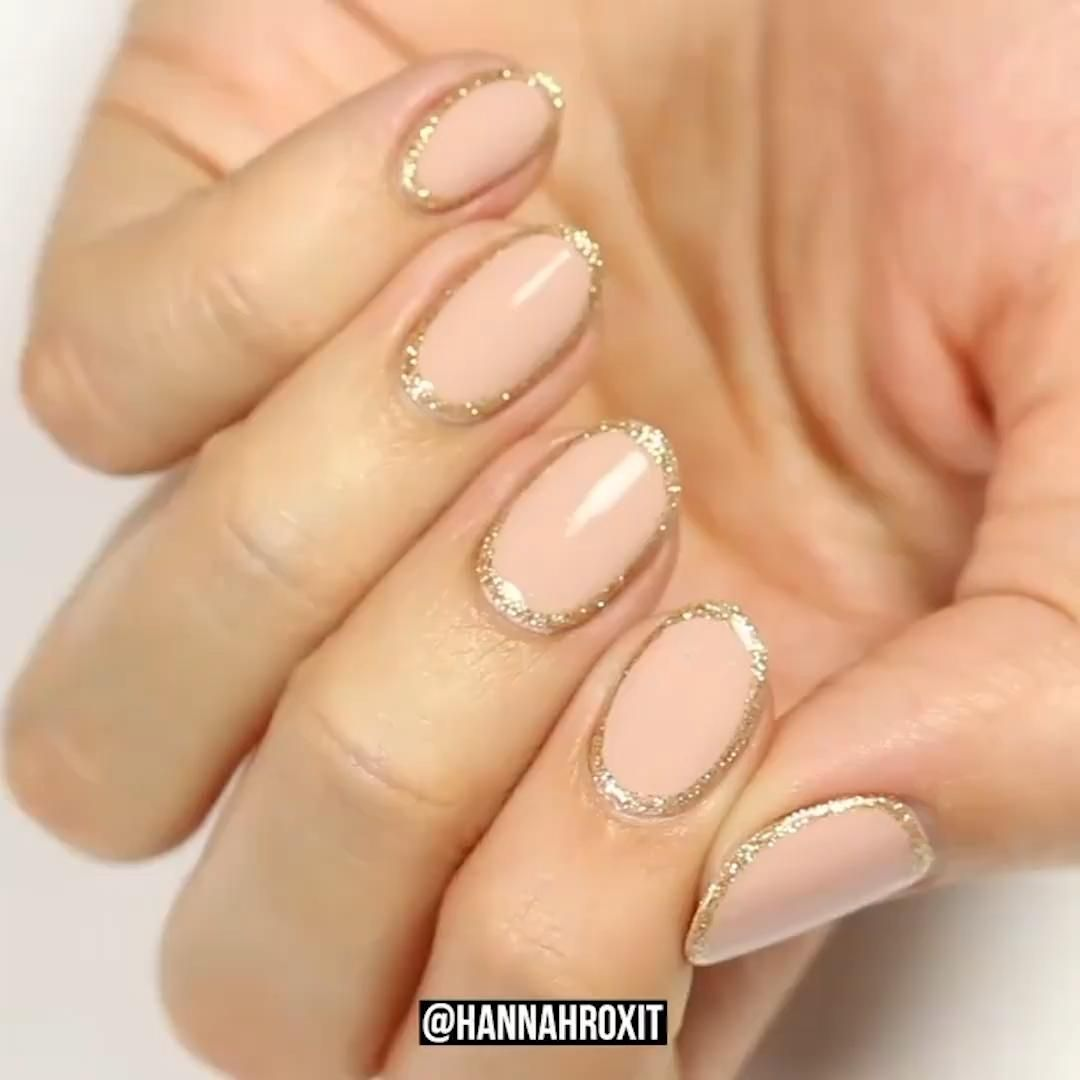 Super Easy Nail Design Video Simple Nail Designs Simple Nails Pink Nail Designs