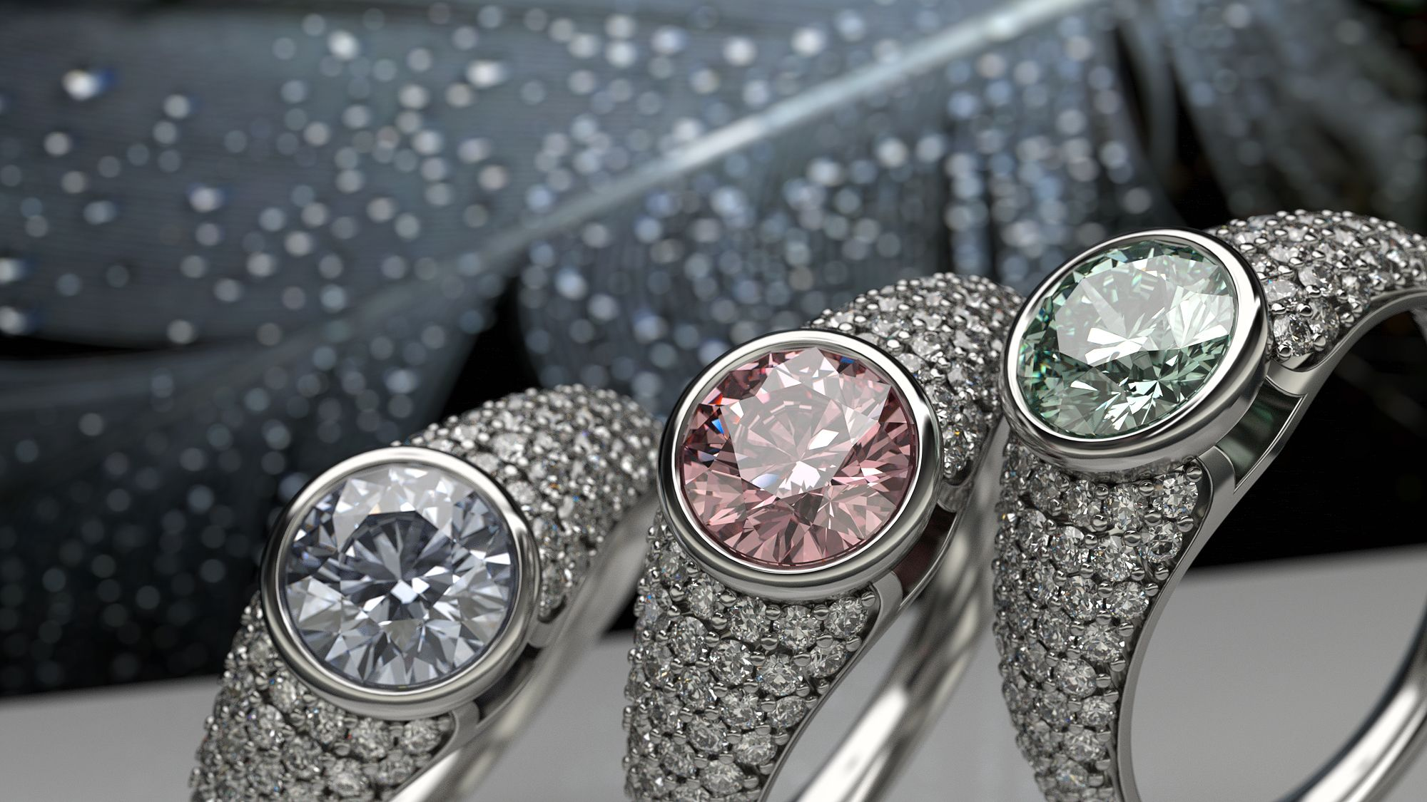 Web banner created by Jewelive for marketing diamond jewelry | Online  jewelry store, Online jewelry, Diamond