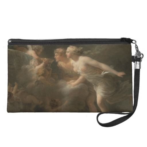 Fountain of #love by Jean-Honore Fragonard Fine #art #wristlet #purses #handbag #bag #bags #cosmeticbag