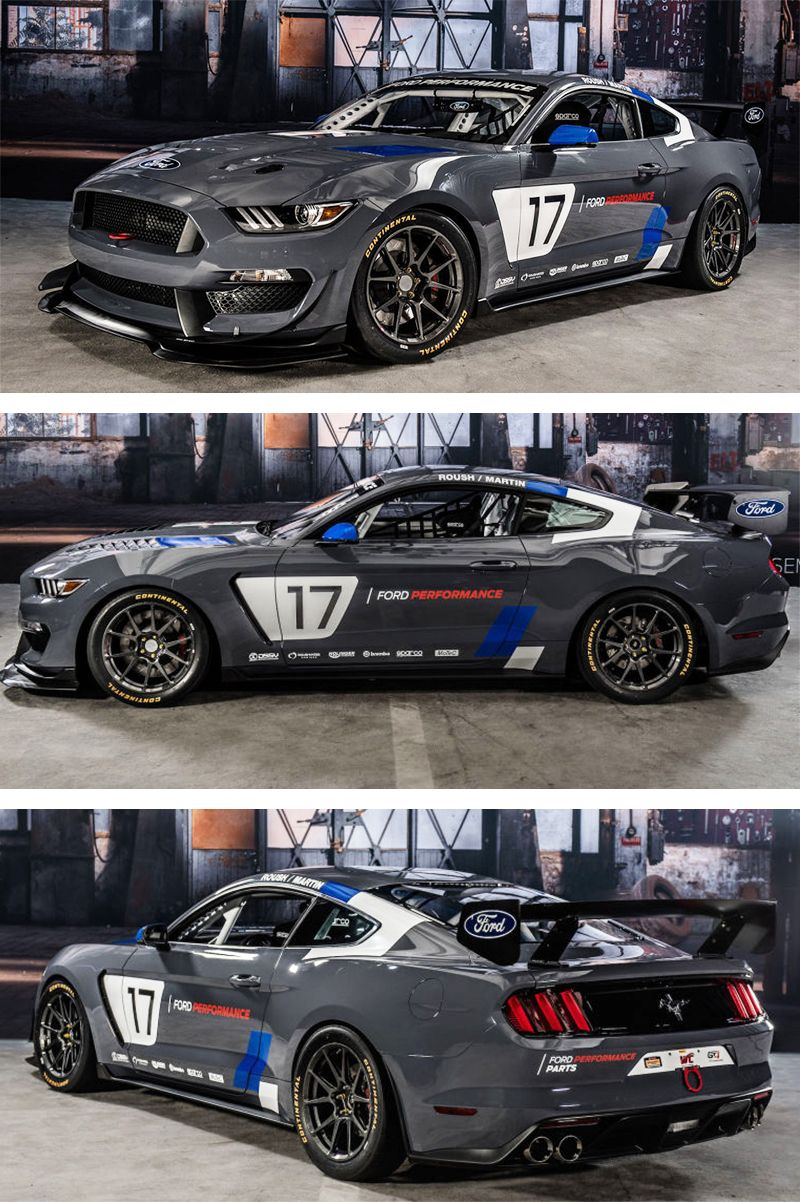 The Ford Mustang Gt4 Is A Shelby Gt350 Based Ready Made Race Car