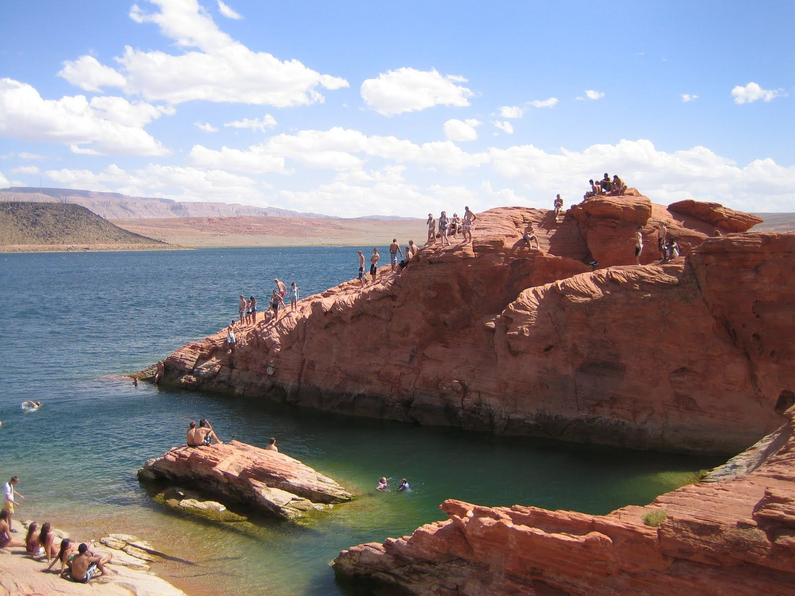 Sand Hollow Cliff Jumping Vacation Favorite Places St George