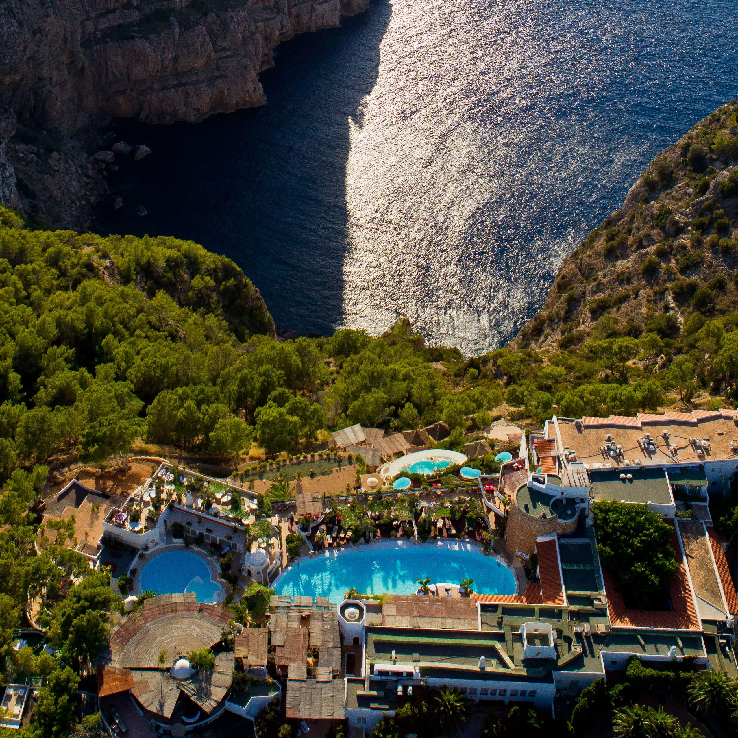 Hacienda Na Xamena Hotel In Ibiza Spain Hotels Pinterest