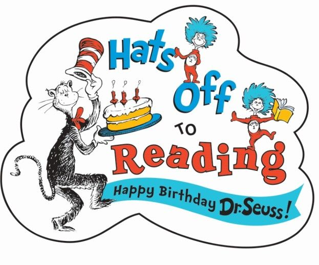 Hats Off To Reading Read Across America Happy Birthday Dr Happy Birthday Dr Seuss Coloring Pages