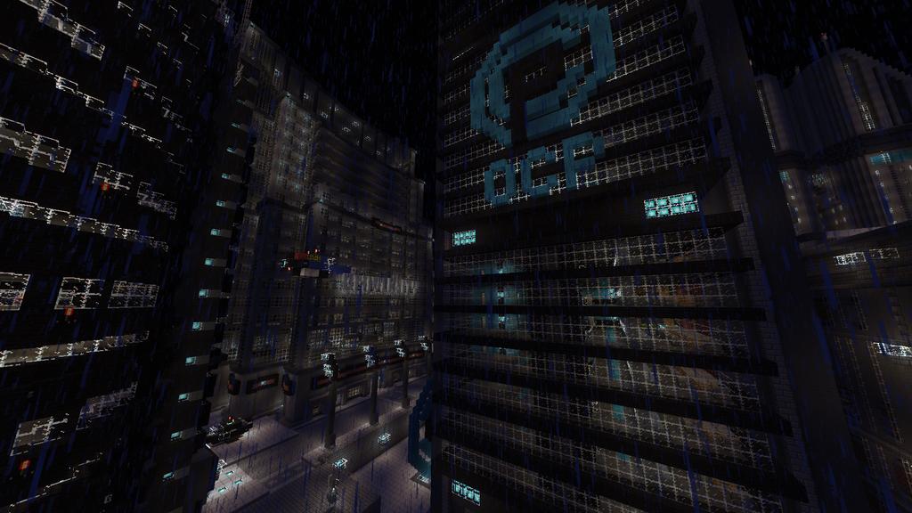 Minecraft Armaghast Deneb Drei 29 Cyberpunk City Minecraft Cityscape