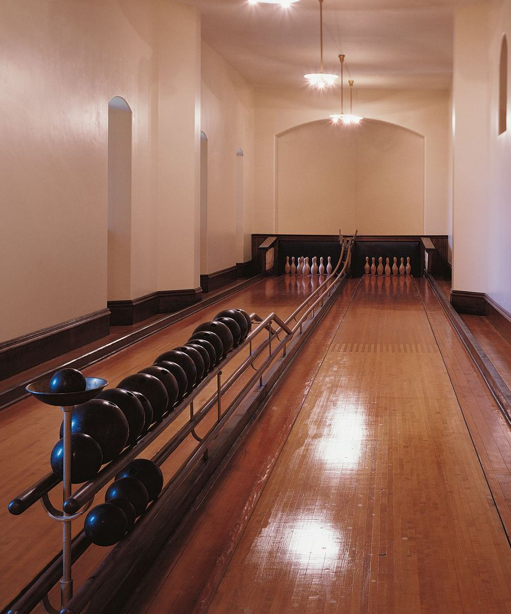 The Bowling Alley inside America\'s largest home   Biltmore ...