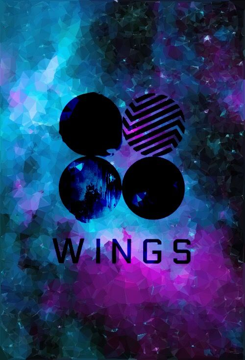 BTS Wings Album Galaxy Wallpaper || by Kpoptensile IG | bts | Pinterest | Wings albums, BTS and ...