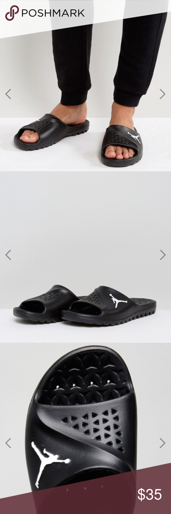 91007056f Nike JORDAN SUPER FLY TEAM SLIDE Men's Sandal The Jordan Super.Fly Team  Men's Slide is ideal for before the game and after, designed with a cushy  footbed ...