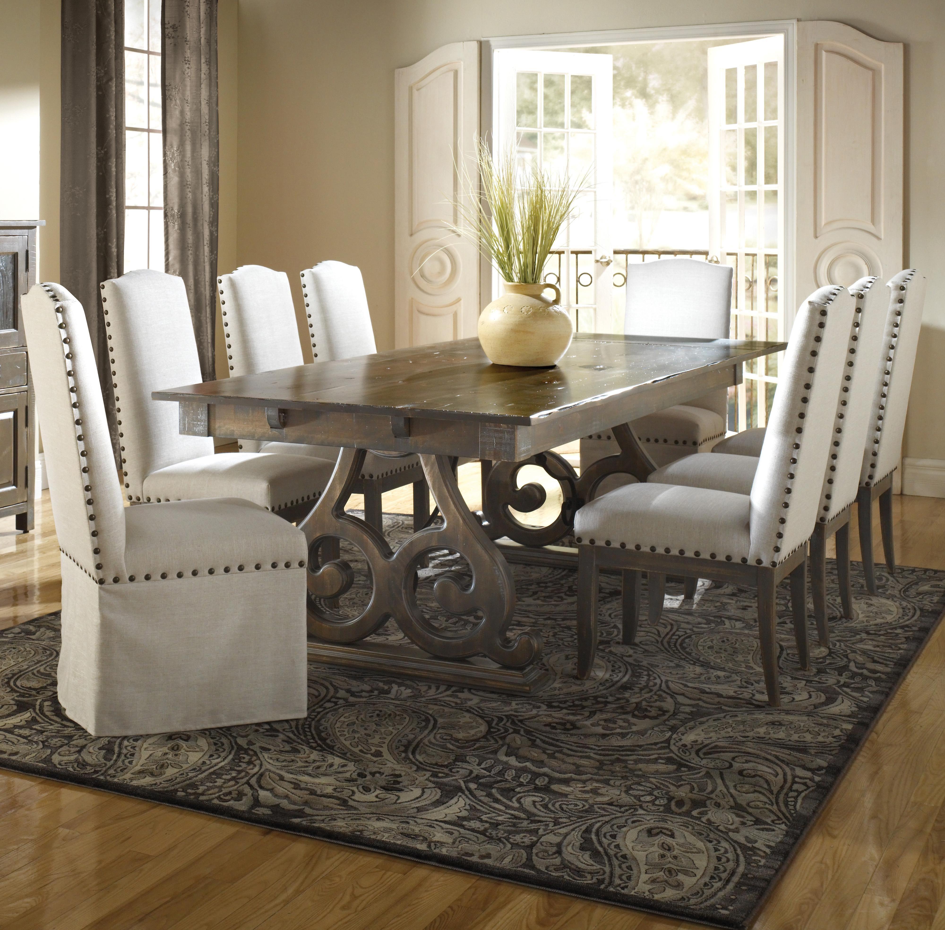 champlain  custom dining customizable rectangular table