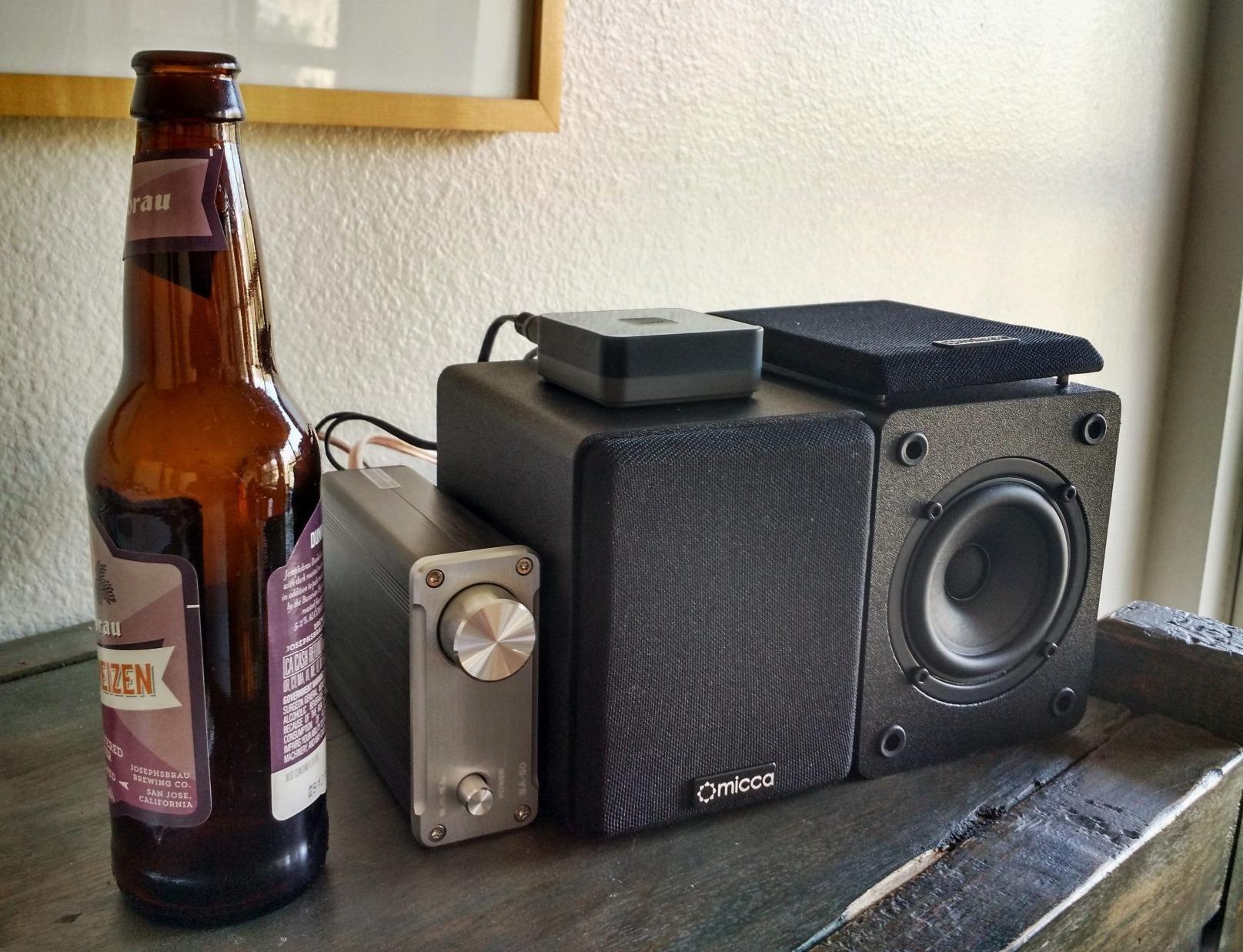 Amazon Micca COVO S Compact 2 Way Bookshelf Speakers Electronics