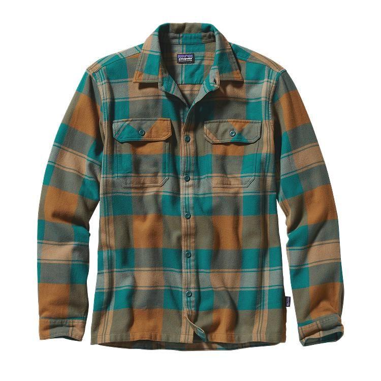 Men 39 S Long Sleeved Fjord Flannel Shirt