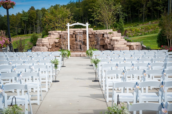 Wedding Ceremony Site At Blue Mountain Ski