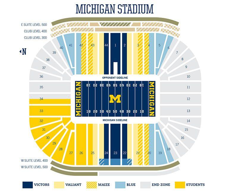 Football Tickets Michigan Wolverines Football University Of