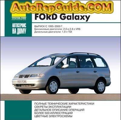 Download Free Volkswagen Sharan Ford Galaxy 1995 2000 Repair