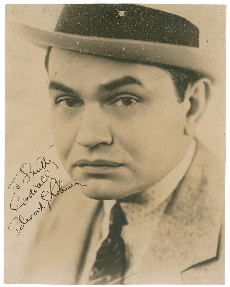 Edward G Robinson ,