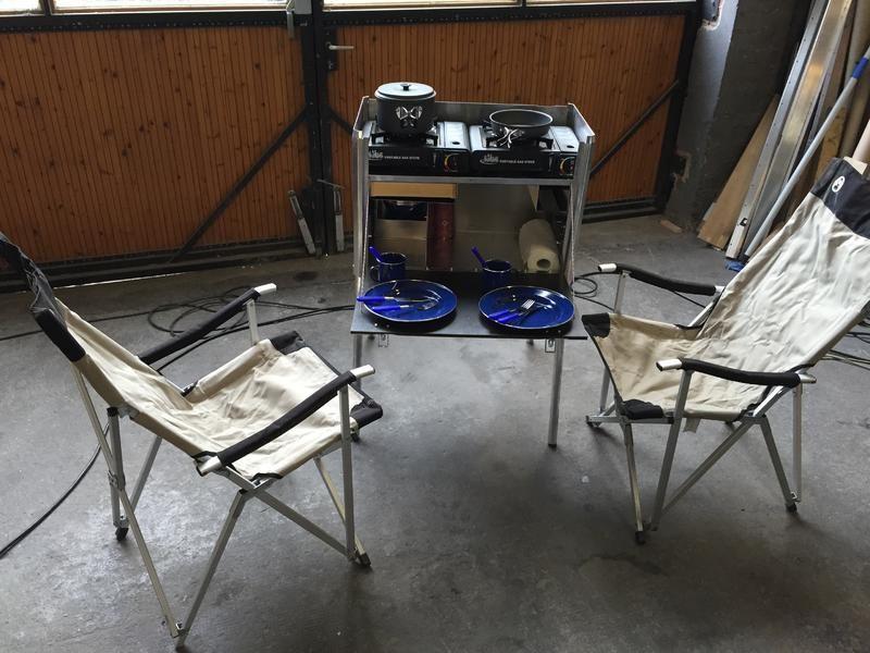 Küchenbox Camping ~ X vision mobile küchenbox chuck box chuck box