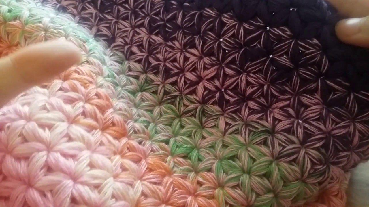 Häkelanleitung Für Den Sternen Loop 1video Crochet Häkeln