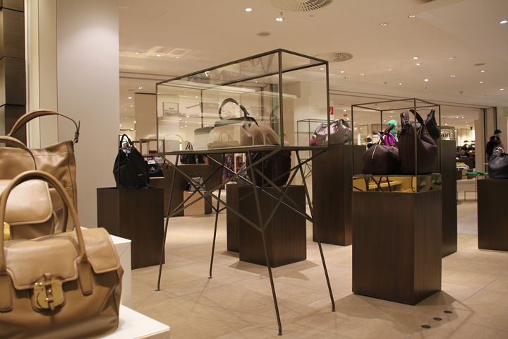 coating for kadewe by verometal berlin germany shop design pinterest. Black Bedroom Furniture Sets. Home Design Ideas