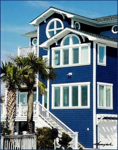 Image result for coastal blue house