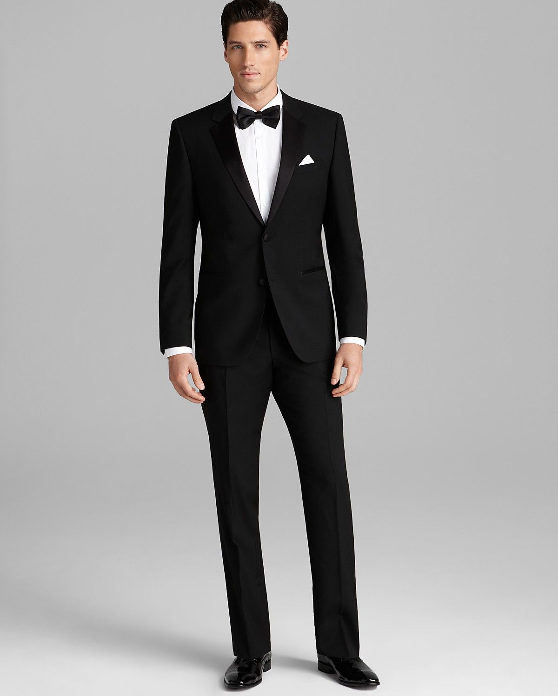 6604a16476f HUGO Aikin Hollo Tuxedo Suit - Regular Fit