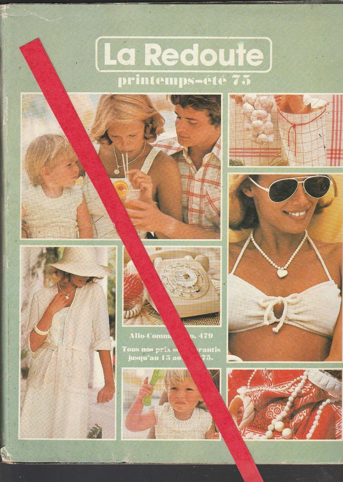 12831 1 catalogue la redoute printemps t 1975 766 pages ebay fashion clothing 1970. Black Bedroom Furniture Sets. Home Design Ideas