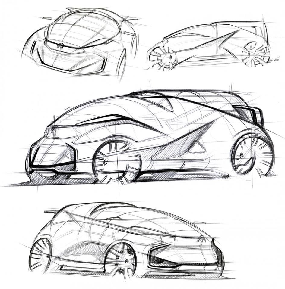Pin by emil hou on auto exterior design pinterest - Croquis voiture ...