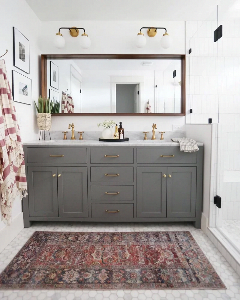 "Minnetrista 72"" Double Bathroom Vanity Set"