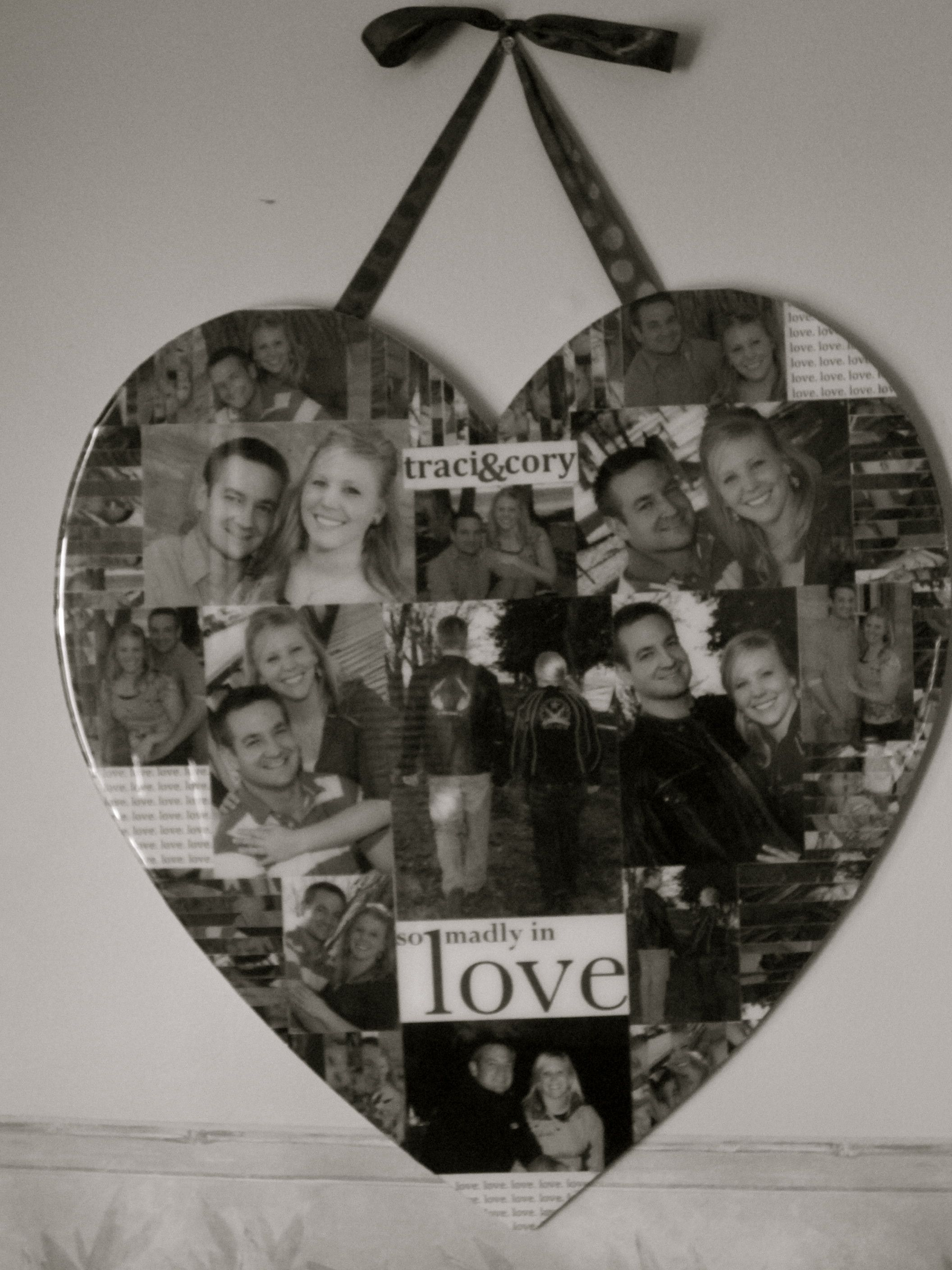 i have made a collage for my best friend with her husband as wedding