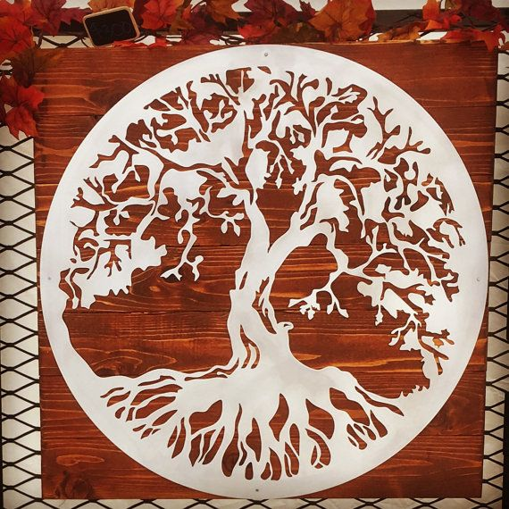 Tree of Life Metal Wall Art by MarkedMetalDesign on Etsy  03214f578