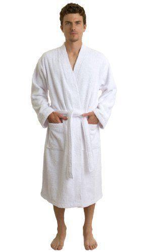 4800ae431a TowelSelections Turkish Terry Kimono Bathrobe - 100% Egyptian Cotton ...