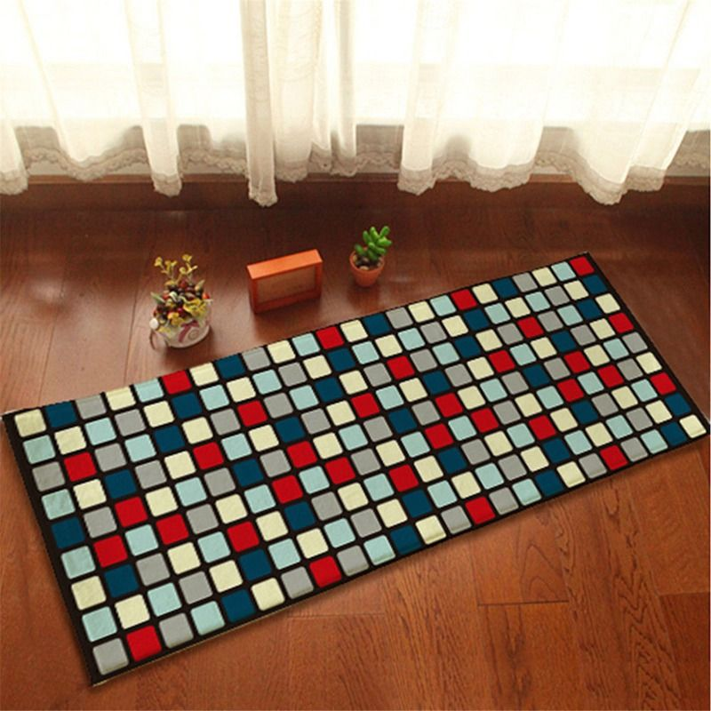 Click To Buy Flannel Square Bath Mat For Bathroom Rug Carpet In The Bathroom And Toilet Anti Slipping Water Absorbing Rugs On Carpet Rugs Square Bath Mat