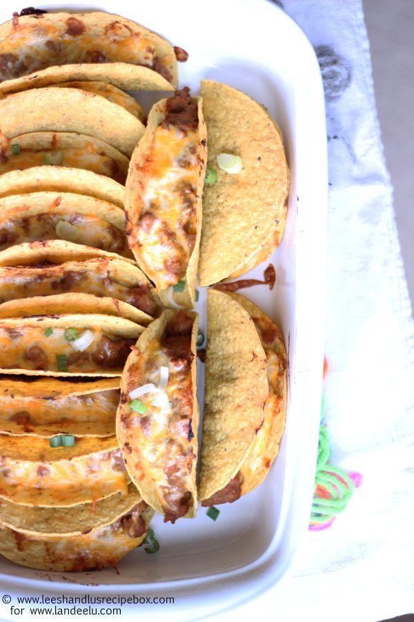 Oven Tacos Recipe - landeelu.com