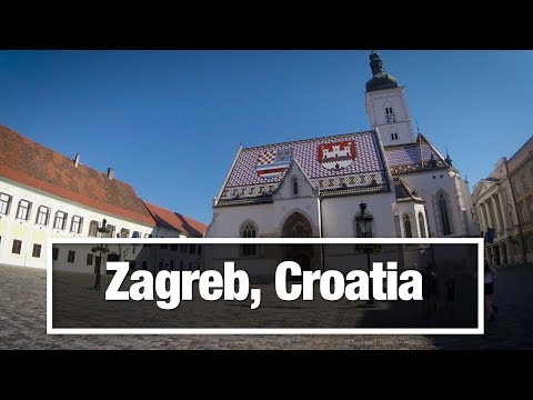 City Walks Zagreb Croatia Virtual Treadmill Walking Tour Youtube Zagreb Walking Tour Croatia