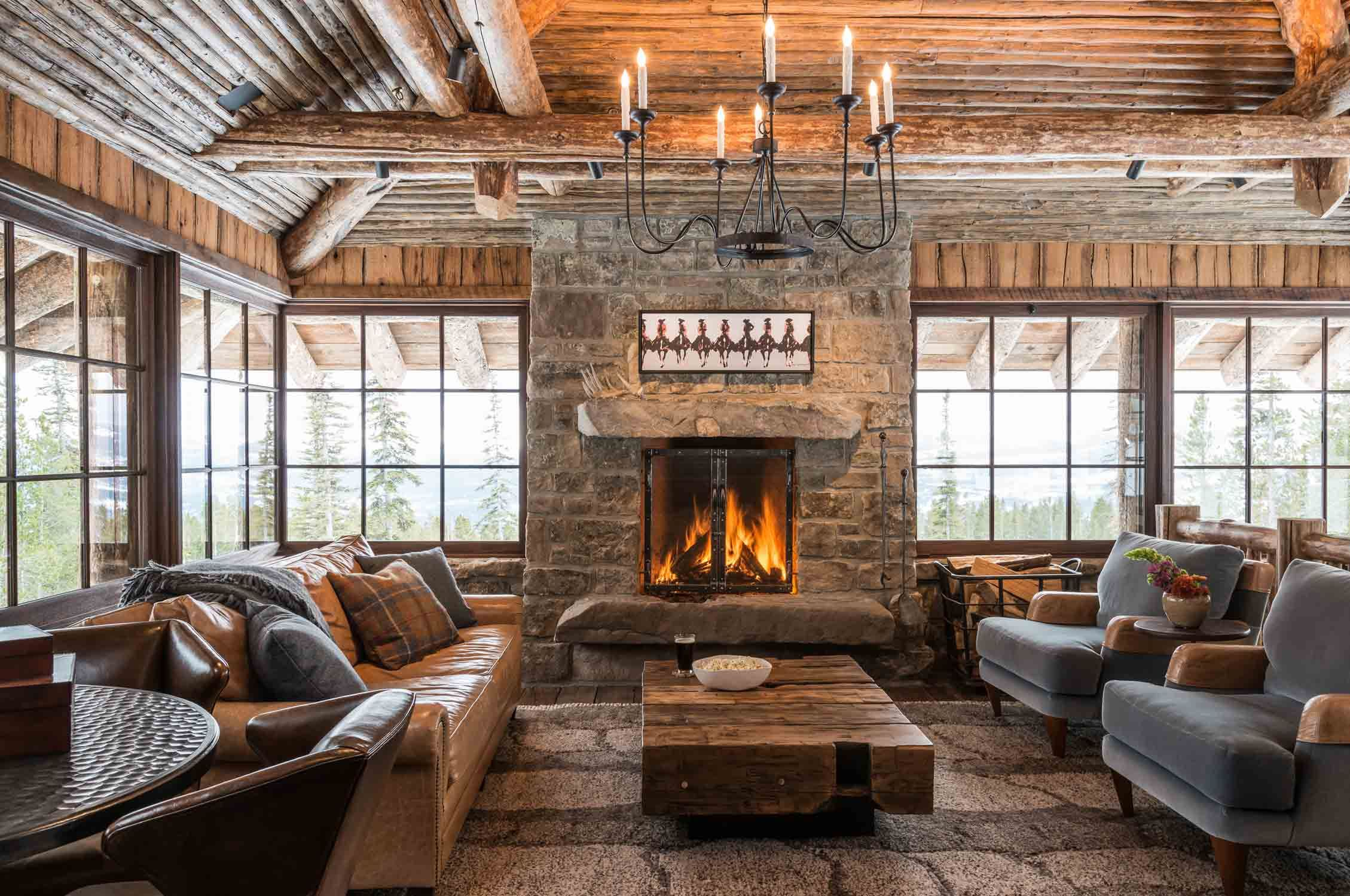 Pearson Design Group Freedom Lodge Montana Interior