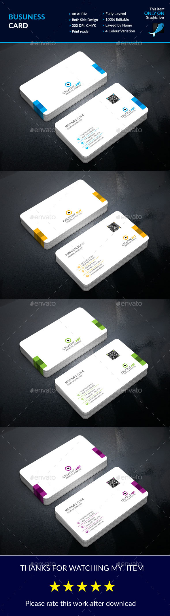 Corporate Business Card Design Template Business Cards Print - Business card print template illustrator