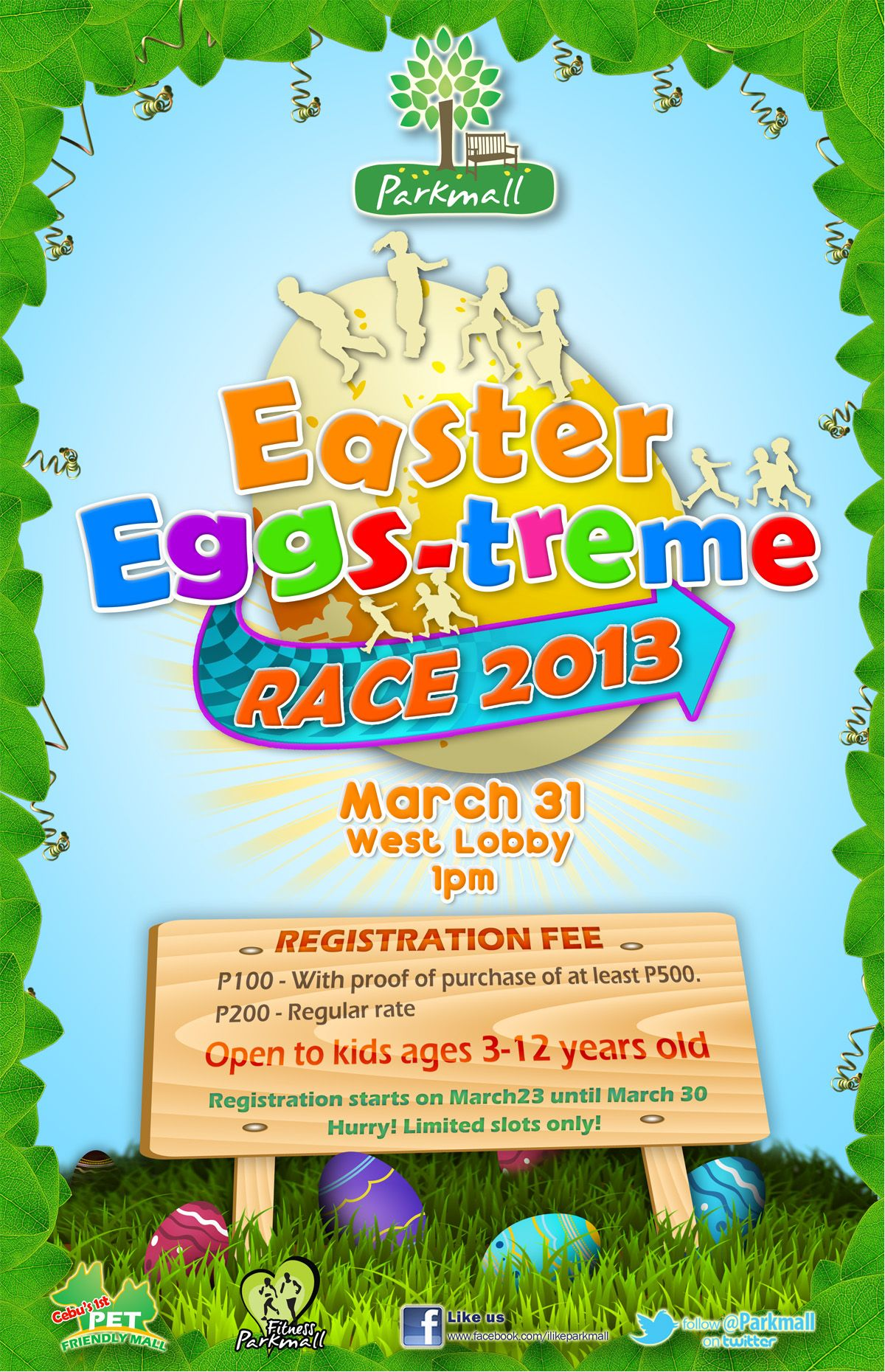 Eggs-iting Easter Eggs-treme Race 2013 at Parkmall | CebuFinest