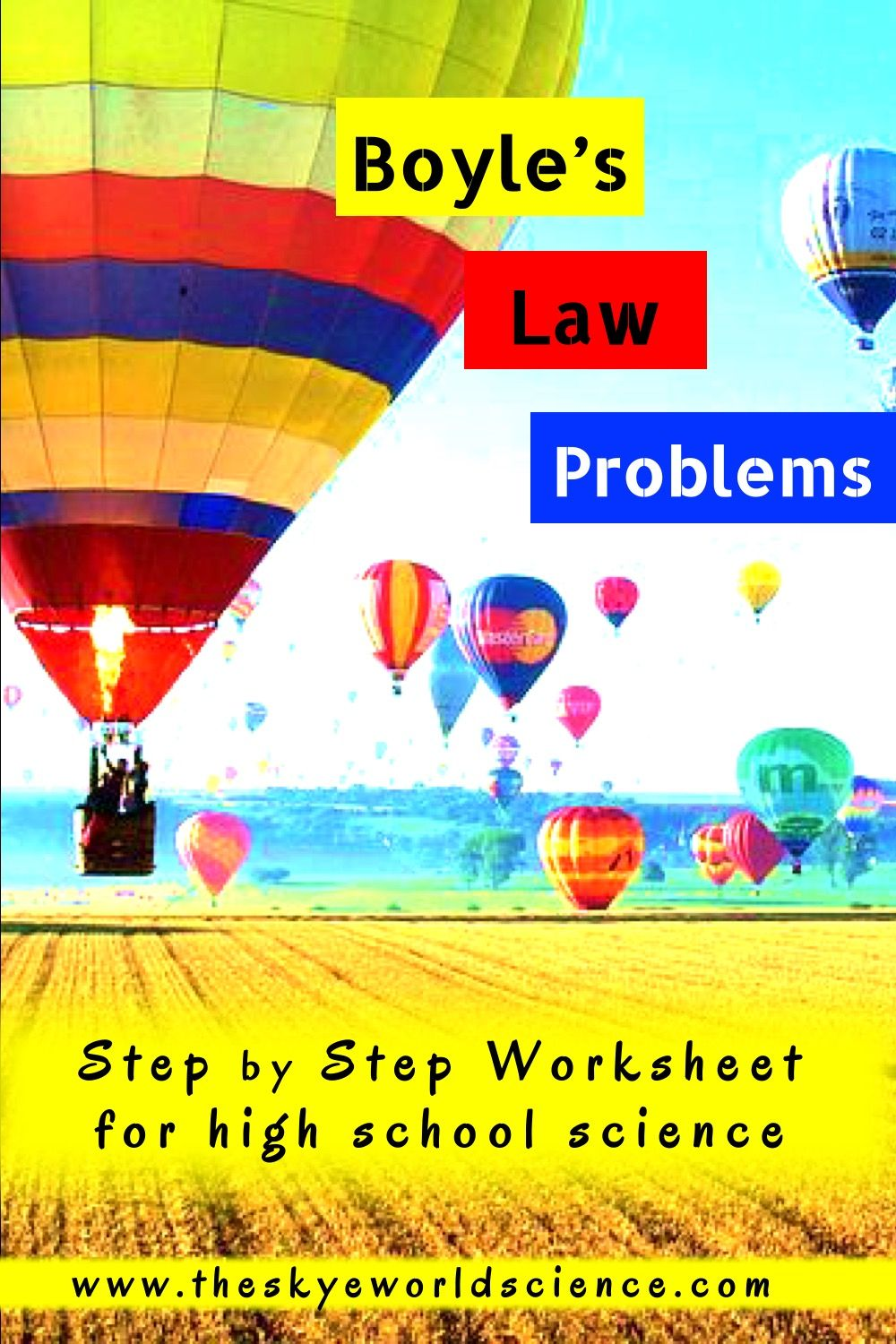 Gas Laws Solving Boyle S Law Problems Basic Math Skills Conceptual Physics High School Science