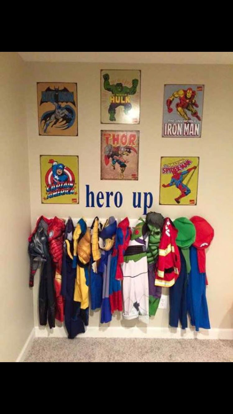 little boys kids heroes dress up costume hero up baby kid